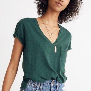 Madewell Whisper Cotton V-Neck T-Shirt